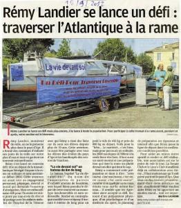 Parution La Provence - 18 septembre 2012