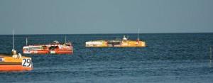 Les bateaux au mouillage