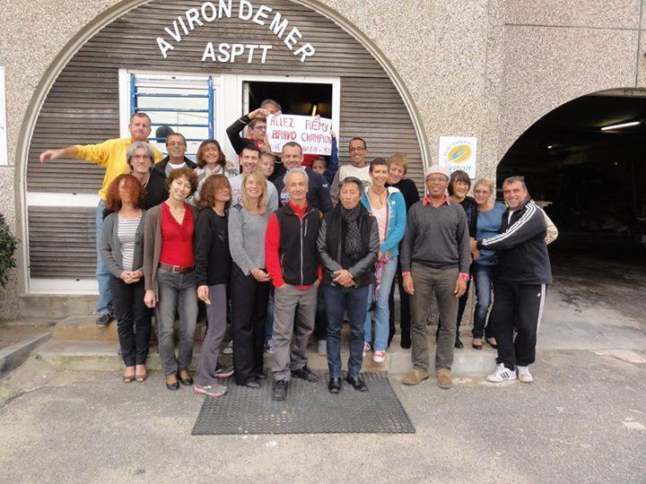 L'ASPTT Marseille aviron soutient Rémy