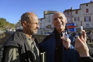 Rémy et son frère Gérard